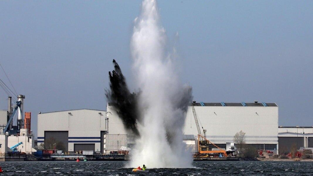 Bombe In Rostock