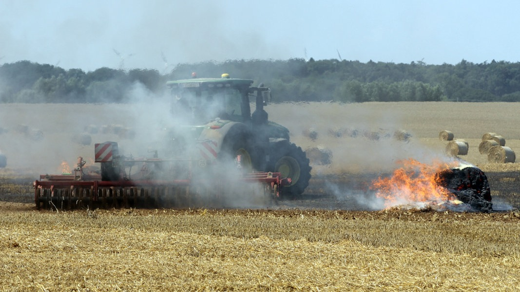 Güllewagen in Flammen: 600.000 Euro Schaden