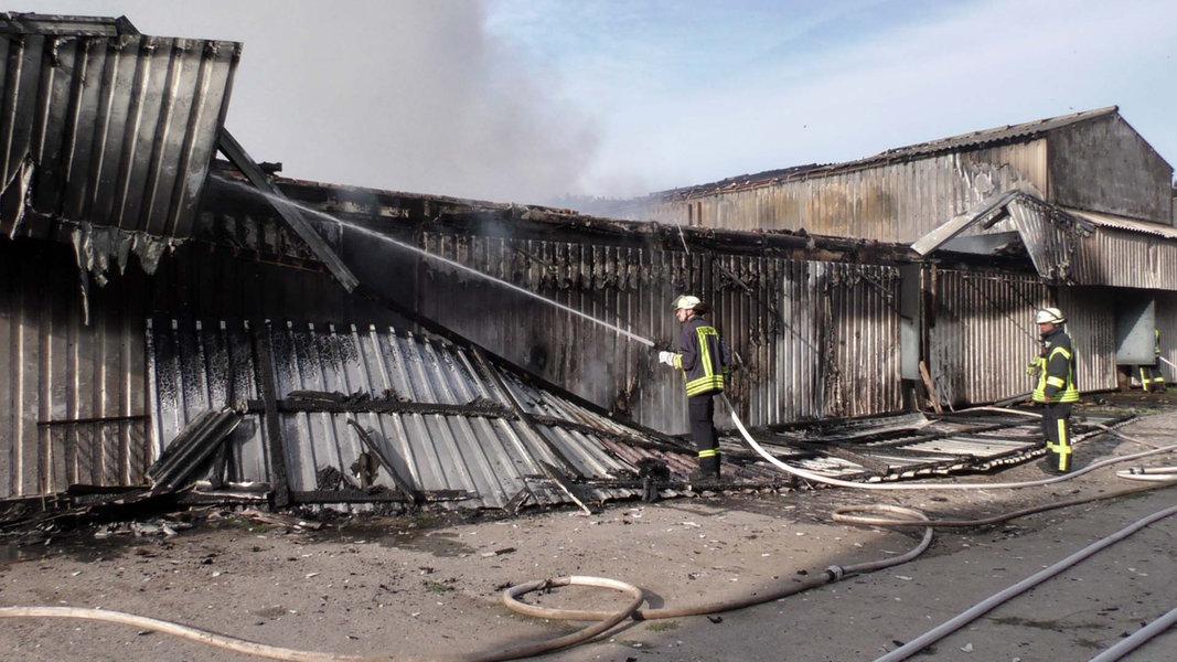 Kolbow: Brand in Schweinestall unter Kontrolle