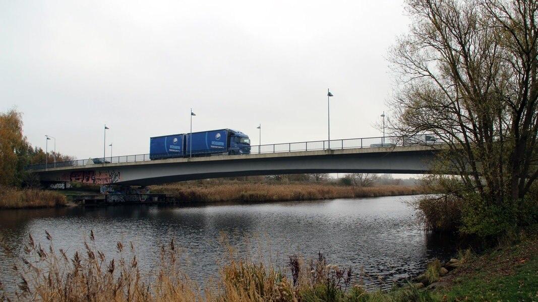 Von Montag an: Behinderungen an Vorpommernbrücke in Rostock