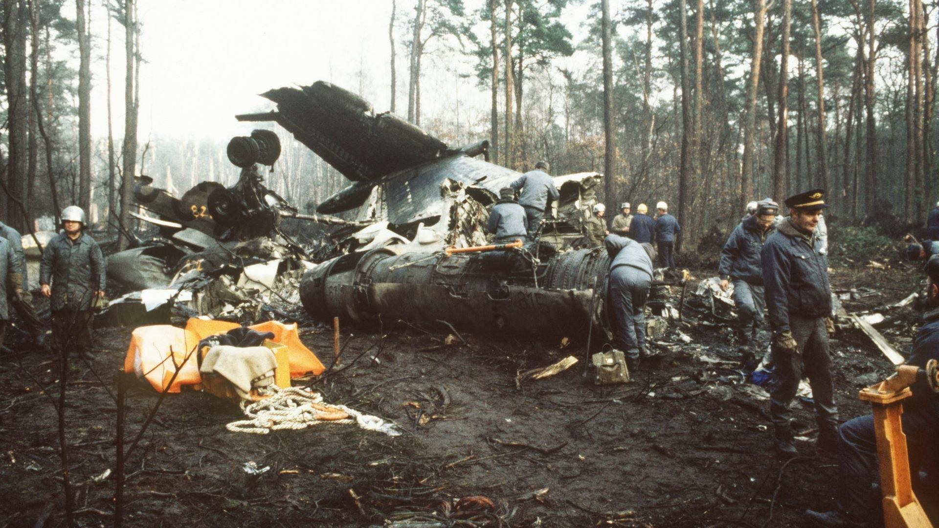 Flugzeugabsturz 1986 Todliche Klassenfahrt Ndr De Geschichte