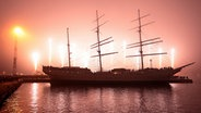 """Gorch Fock"" (I) © Tall Ship Friends Stralsund Foto: unbekannt"