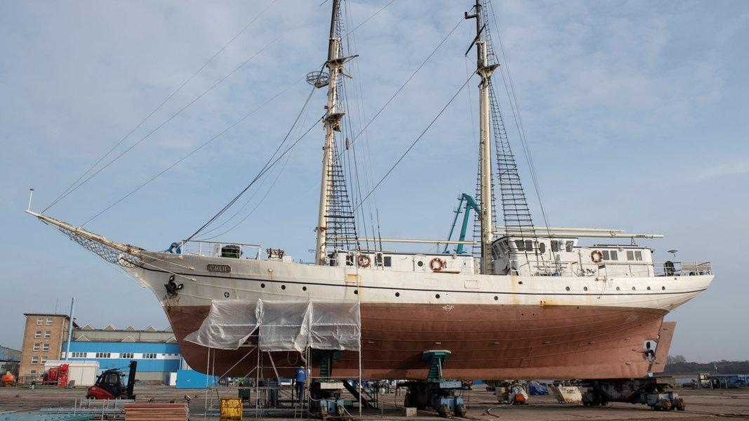 """Segelschulschiff """"Greif"""" ist nicht mehr seetüchtig"""