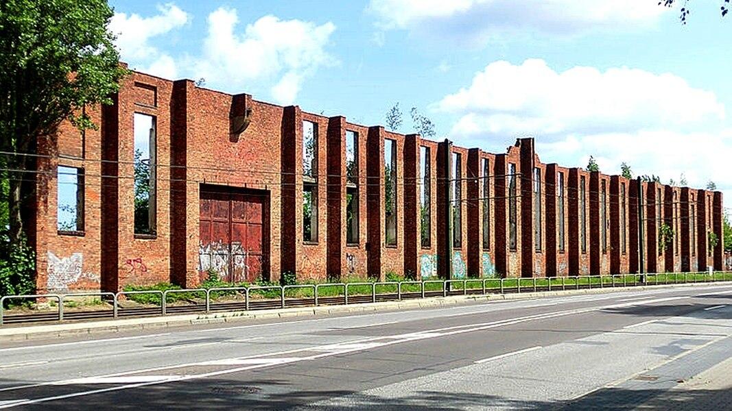 Heinkel Mauer Rostock