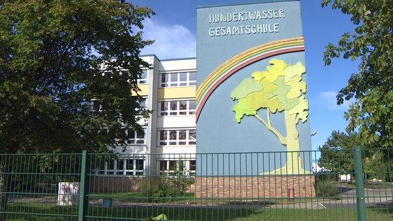 L'école polyvalente Hundertwasser à Rostock-Lichtenhagen © NDR Photo: NDR