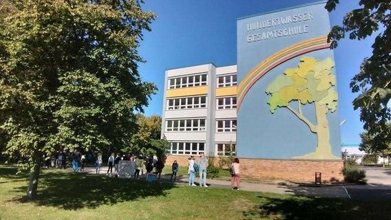 École polyvalente Hundertwasser à Rostock-Lichtenhagen © NDR Photo: NDR
