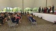 Im IGa Park Rostock finden die Jugendweihen 2020 unter freiem Himmel statt. © ndr.de Foto: Dimitri Paul
