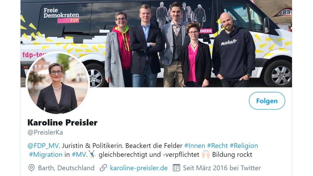 Barth: FDP-Politikerin mit Böllern beschossen