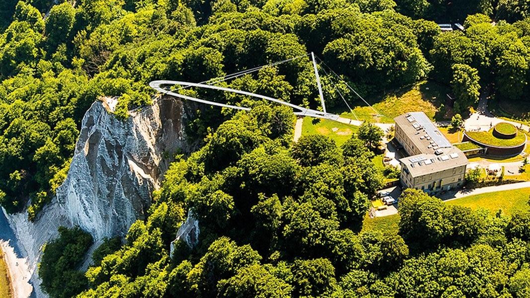 Königsstuhl auf Rügen: Neue Aussichtsplattform kommt
