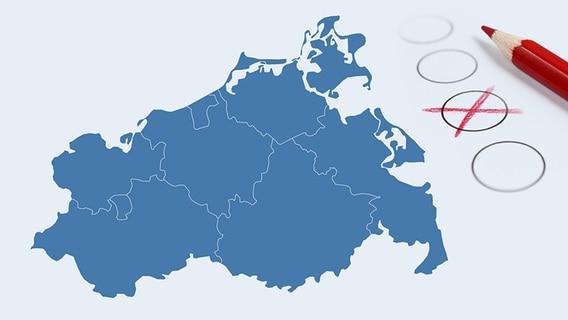 Karte Mv Kostenlos.Mecklenburg Vorpommern Hat Gewahlt Ndr De Nachrichten