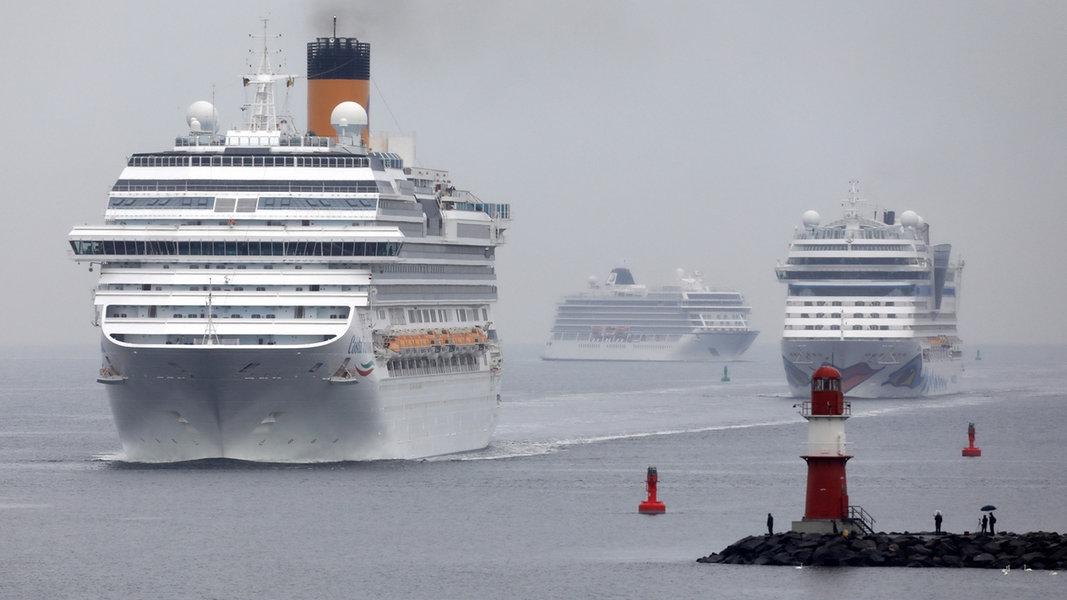 Corona MV: Aida Cruises stellt Antrag auf staatliche Hilfe