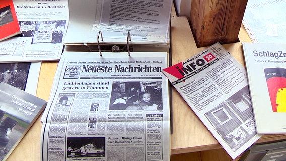 Rostock gedenkt der Ausschreitungen in Lichtenhagen 1992