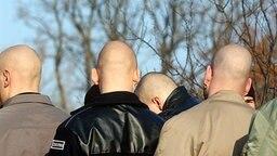 Anhänger der NPD © picture-alliance