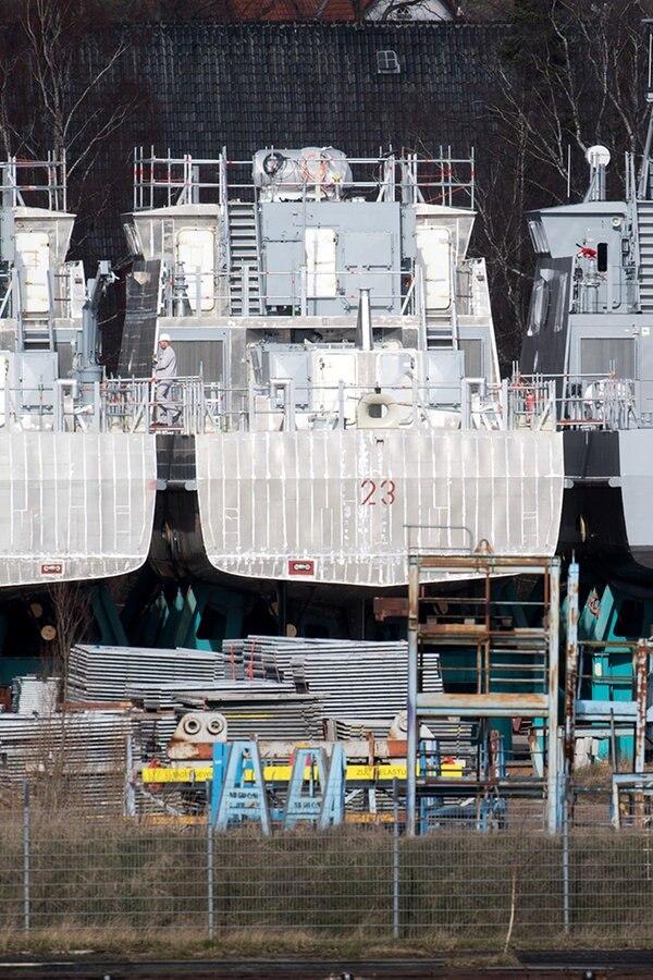 Ein Jahr nach Exportstopp: Viel zu tun auf Peenewerft