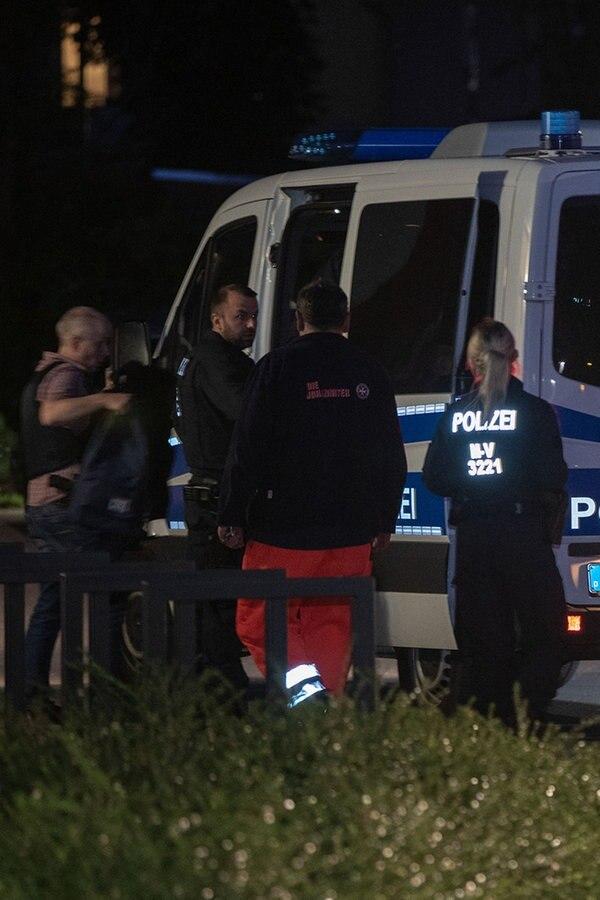 Landratsamt Wismar: SEK überwältigt Mann - Baby wohlauf