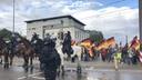 Ein Demonstrationzug der AfD ist in der Rostocker Innenstadt unterwegs. © NDR Fotograf: Isabel Lerch