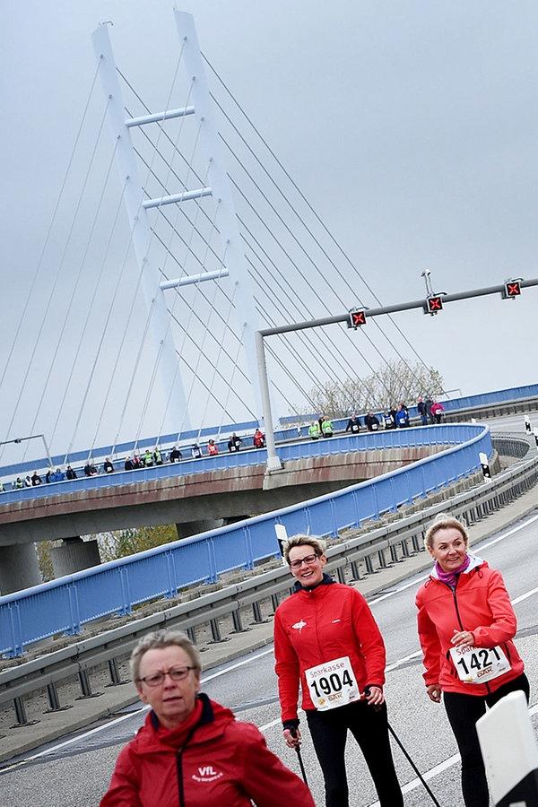 5.350 Starter beim Rügenbrücken-Marathon