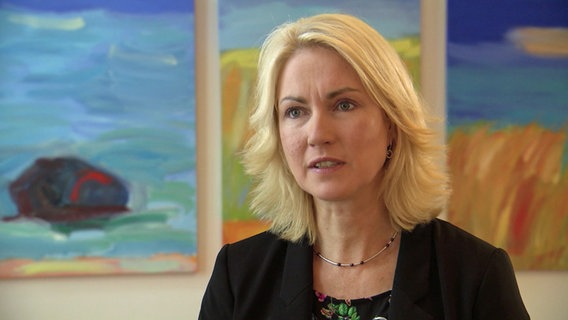 Manuela Schwesig © NDR Foto: Screenshot