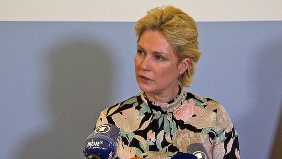Pressekonferenz Manuela Schwesig