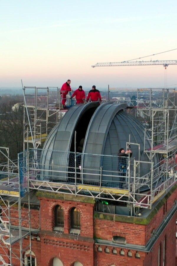 Greifswald: Kuppel der Sternwarte wird saniert