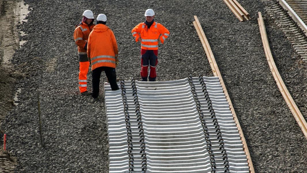 Bauarbeiten behindern Bahnverkehr in Osnabrück