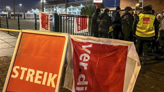 Nahverkehr Rostock Streik