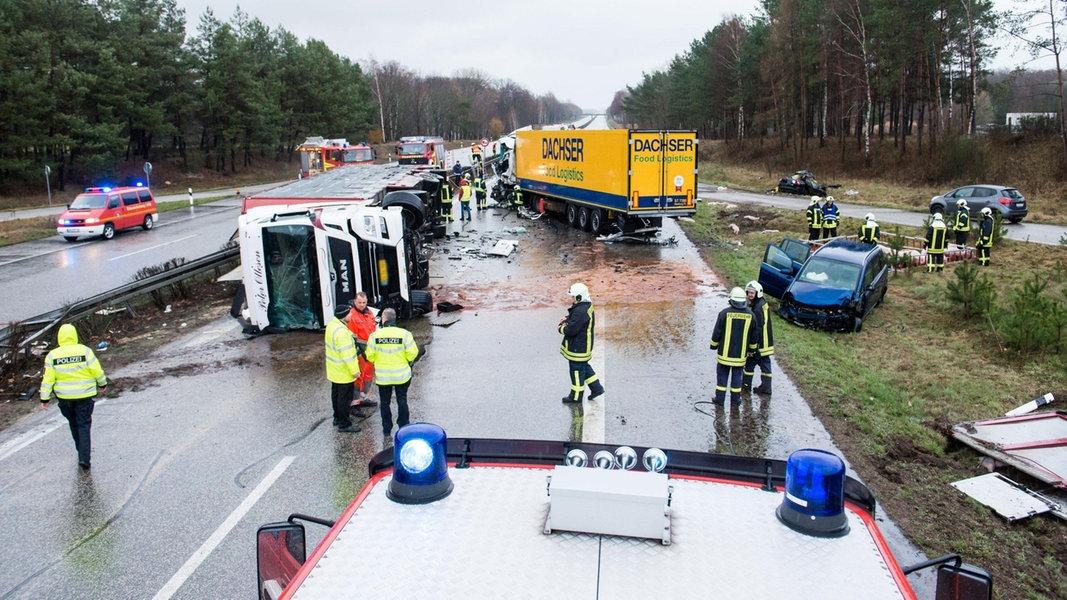 A24 Unfall