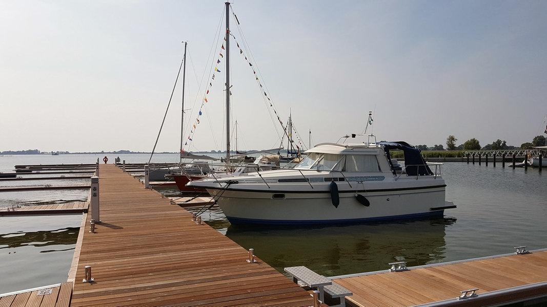 Neuer Usedomer Stadthafen in Betrieb gegangen