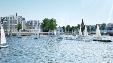 Visualisierung der Mittelmole von Warnemünde | Böge Lindner K2 Architekten, Hamburg
