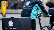 Deliveroo-Fahrer in London (Januar 2016) © Picture Alliance Fotograf: Nick Ansell
