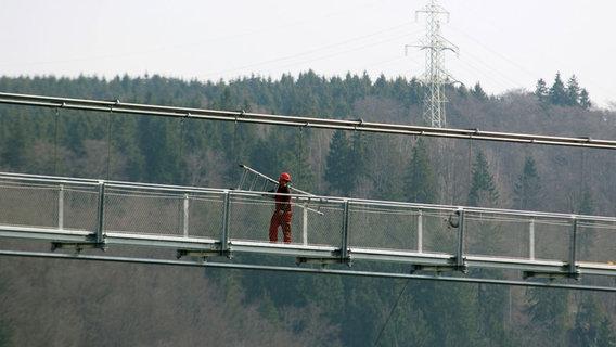 Längste Seilhängebrücke der Welt im Harz eröffnet
