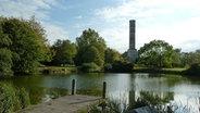 Der Wasserturm im Bürgerpark in Braunschweig. © NDR Foto: Franziska Mahn