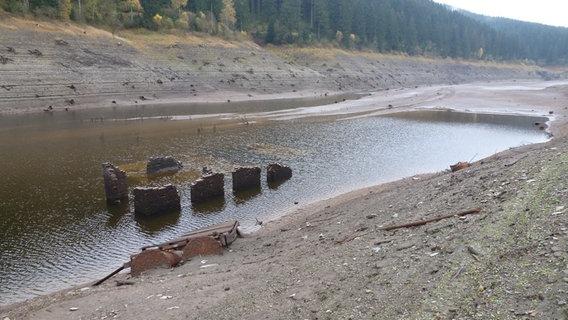 Wasserstand Talsperren