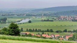 Der Bückeberg in Emmerthal an der Weser bei Hameln. © dpa Fotograf: Peter Steffen