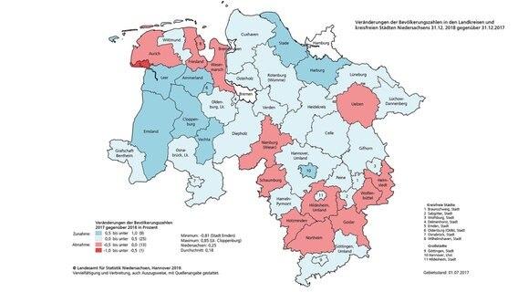Wieviel Einwohner Hat Niedersachsen