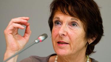 Maria Krautzberger, Präsidentin des Umweltbundesamts, bei einer Pressekonferenz in Berlin am 30. Juli 2014 © dpa Bildfunk Foto: Daniel Bockwoldt