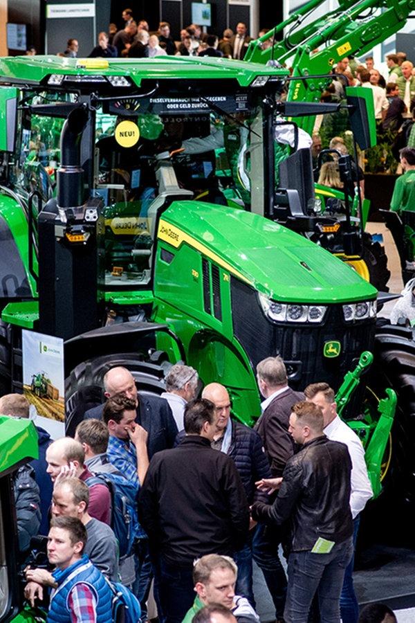 Agritechnica: Veranstalter zählen 450.000 Besucher