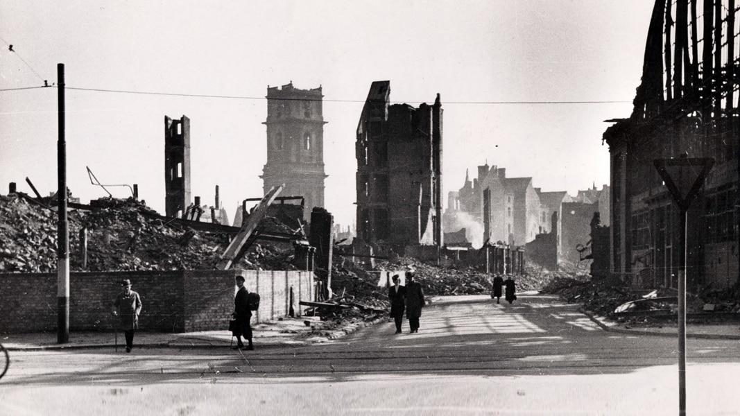9. Oktober 1943: Hannover in Schutt und Asche   NDR.de - Kultur - Geschichte - Chronologie