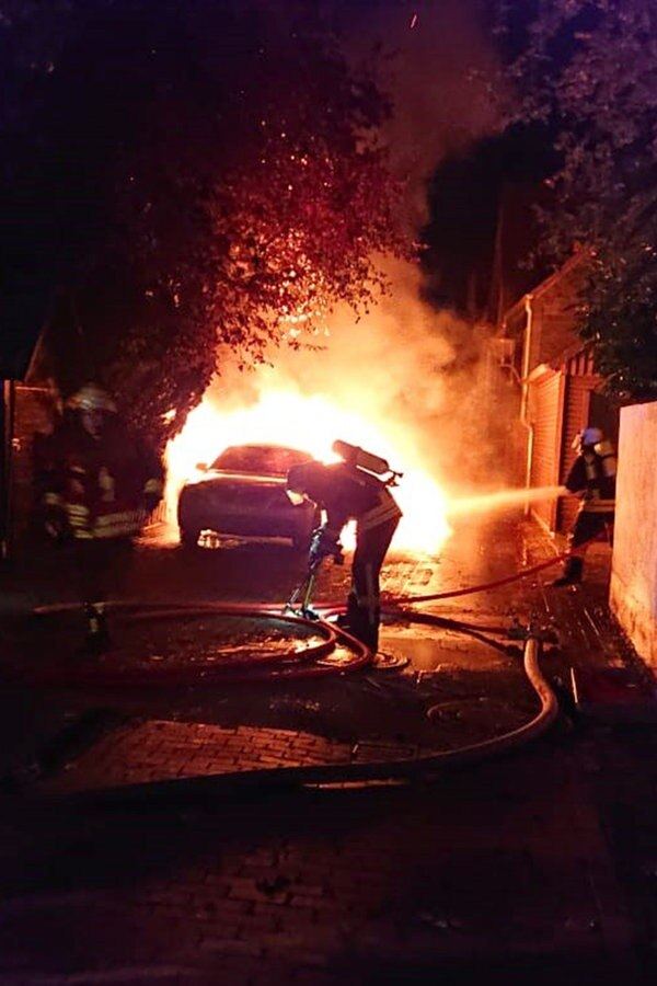 Bad Münder: Auto in Brand gesetzt