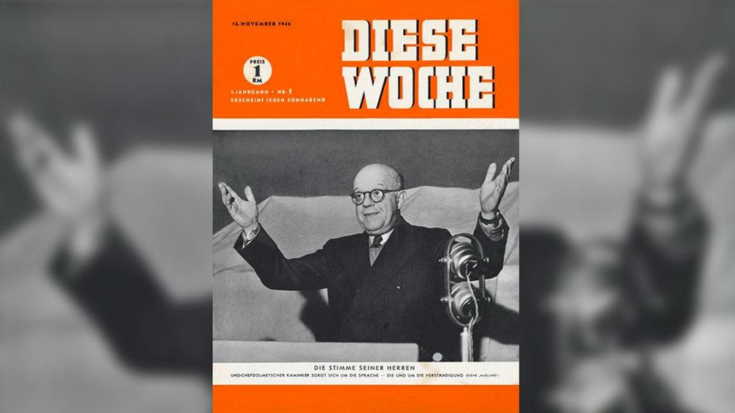 November 1946 spiegel wird in hannover geboren for Der spiegel redakteure