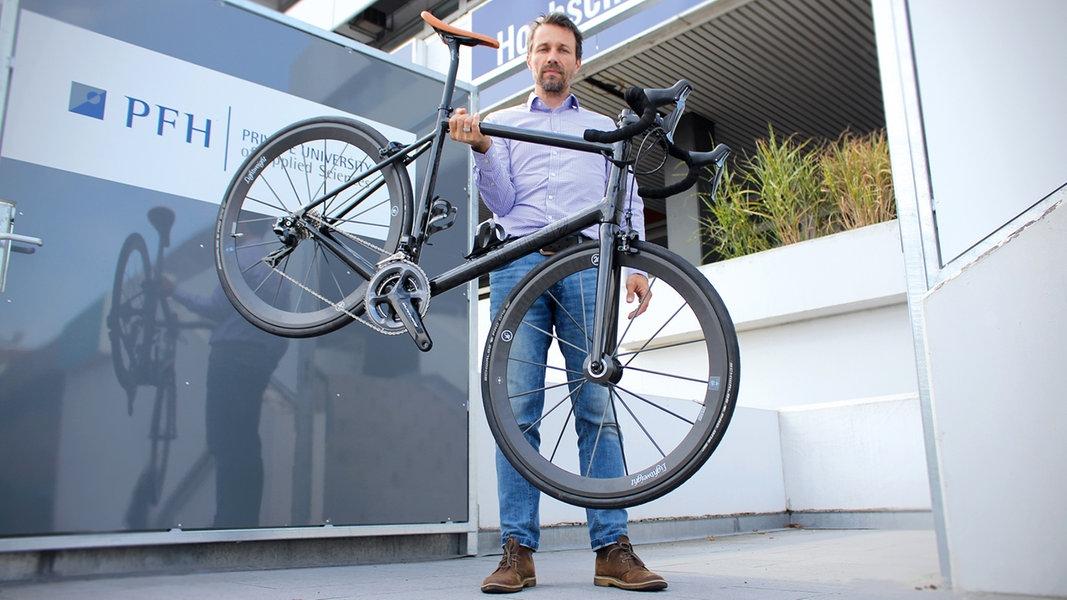 Stader Professor entwickelt leichtestes E-Bike