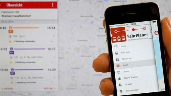 Für Bus Und Bahn App Bündelt Ticketkauf Ndrde