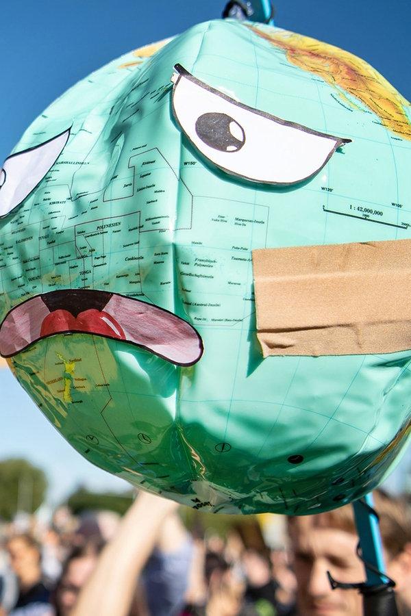 Klima-Demos im Norden: Streikende setzen Zeichen