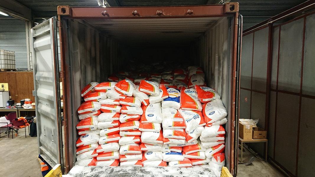 Hannover: Zoll stellt 717 Kilo Kokain sicher
