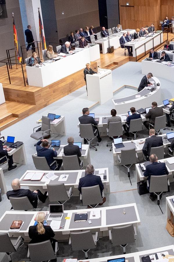 Landtag: Letzte Sitzungswoche startet am 16. Dezember