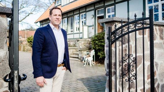 Tim Mithöfer, CDU candidate for the mayoral elections in Isernhagen.  © Björn Tegtmeier