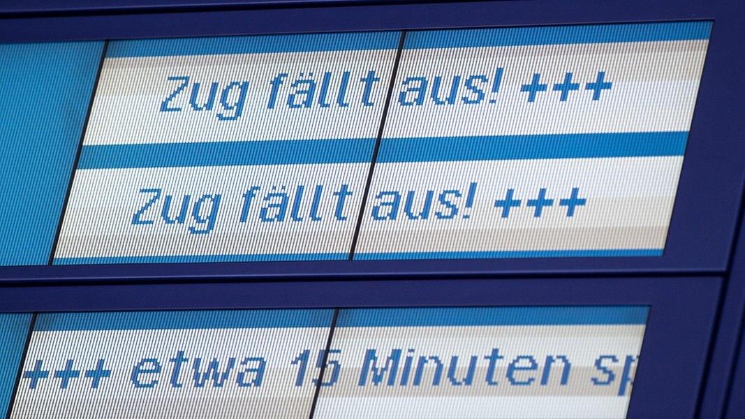 Bahn Oberleitungsschaden