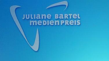 Das Logo des Juliane Bartel Medienpreises. © NDR