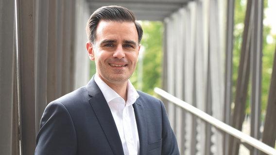 Claudio Provenzano, SPD candidate for the mayoral elections in Garbsen.  © Claudio Provenzano