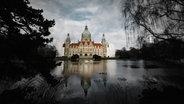 Das Rathaus am Maschsee. © NDR Foto: Julius Matuschik